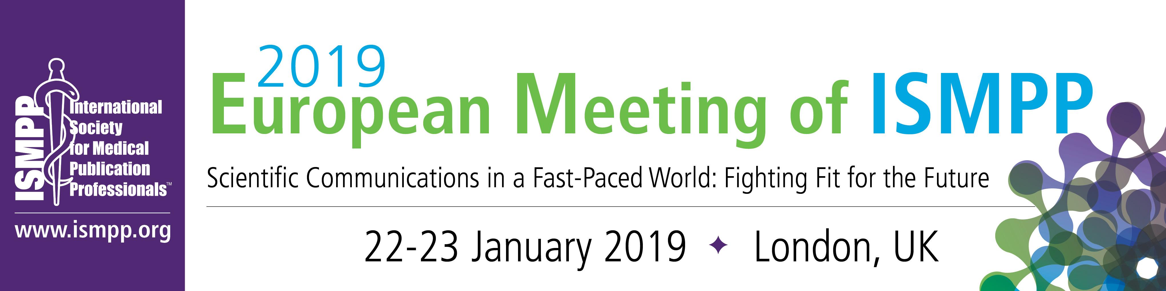 2019 european meeting schedule of events